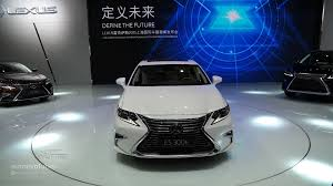 lexus hs 250h review 2016 lexus es facelift is full of self esteem at auto shanghai