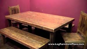 barnwood dining table from the riverwood reclaimed wood furniture
