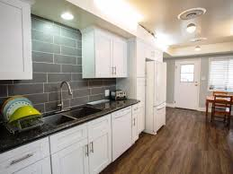 White Kitchen Cabinets And Black Countertops Kitchen Stainless Steel Countertops Quartz Kitchen Cost Lighting