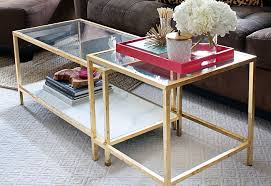 Ikea Hack Coffee Table Diy Tuesday Easy Gold Ikea Coffee Table Hack
