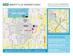 Seattle Parking Map by Seattle Marathon Bastyr Sports Medicine Club