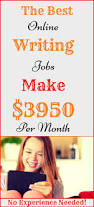 online jobs from home start earning with writing jobs no