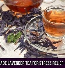 lavender tea how to make lavender tea to relieve stress recipe bowl of herbs