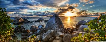 rocky shore wallpapers rocky shore hdr 4k hd desktop wallpaper for 4k ultra hd tv