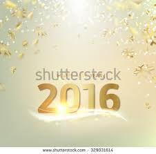 happy new year card gold template stock vector 329031614