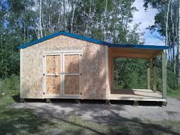 Rv Storage Plans Beautiful Shed With Side Storage 42 For Rv Storage Shed Plans With