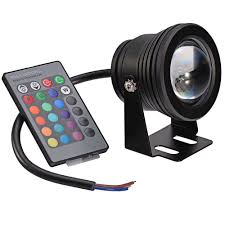 Underwater Landscape Lighting by Amazon Com Mudder 10w 12v Memory Function Rgb Multi Color