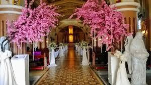 wedding backdrop philippines cherry blossom