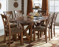 Fine Solid Wood Dining Room Table And Chairs Of With Ideas - Solid dining room tables