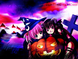 wallpapers de halloween halloween anime wallpaper wallpapersafari
