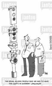 traffic light cartoons humor from jantoo cartoons