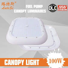 led gas station canopy lights manufacturers lj cl100w china lutesi led canopy lights led gas station canopy