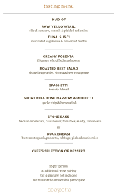 scarpetta launches expanded happy hour 55 tasting menu open