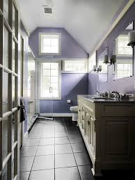 bathrooms stylish purple bathroom with grey bathroom vanity