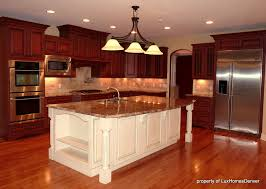 should you paint cherry cabinets white island cherry cabinets warm contrast cherry wood