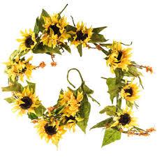 sunflower garland hobby lobby 785931