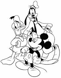 disney characters coloring pages getcoloringpages