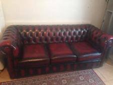 chesterfield sofa for sale leather chesterfield sofa ebay