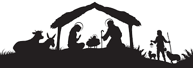 champagne silhouette png 66 ideas christmas nativity scene silhouette on duetteko download