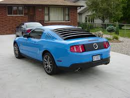 mustang louver rear window louvers ford mustang forum