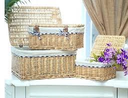 Storage Boxes For Bathroom Storage Baskets And Boxes Buy Storage Box Wicker Storage