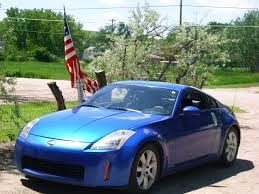 Nissan 350z Blue - mt chevy 2004 nissan 350z specs photos modification info at