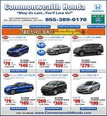 ma honda dealers deals from commonwealth honda ma