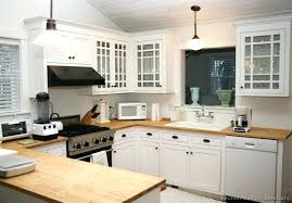 How To Whitewash Oak Kitchen Cabinets White Stained Wood Kitchen Cabinets Painting Versus Cabinet Doors