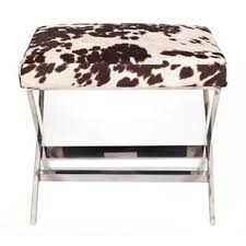 Printed Ottomans Cow Print Ottoman Wayfair