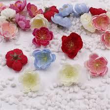 Cheap Flowers For Wedding Cheap 3 2cm Silk Artificial Cherry Blossoms Flowers For Wedding