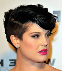 pondo hairstyles for black american short one side mohawk haircut african american 40 s and above hair