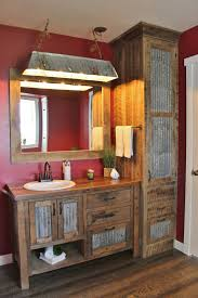 Rustic Bathroom Vanity by Rustic Industrial Trough Light Galvanized Light By Keeriah