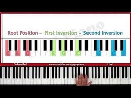 keyboard chords tutorial for beginners how to play piano chords lesson 5 chord inversions music