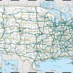 highway map of the united states map usa road major tourist attractions maps