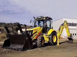 new holland u0027s b90b backhoe has a maximum dig depth of 14 feet 4