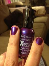 sally hansen hard as nails xtreme wear 350 purple potion i