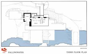 14 falling water house floor plan for water crafty inspiration