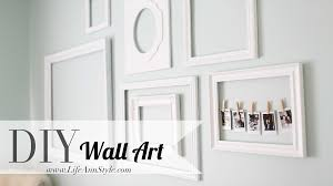 Make Wall Decorations At Home by Make A Statement With Empty Picture Frames As Wall Art U2013 Ann Le Style