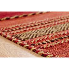 Cotton Weave Rugs Red Flat Weave Rug Roselawnlutheran