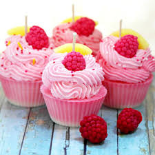 cupcake candles raspberry lemonade scented soy cupcake from brooklynwicksllc on