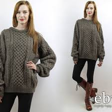 knit oversized sweater best fisherman cable knit sweaters products on wanelo