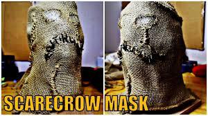 Scarecrow Mask How To Diy Cosplay Propmaking Scarecrow Mask Batman Youtube