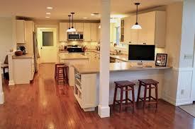 Kitchen Peninsula Cabinets White Kitchen Cabinets Shaker Style Cliqstudios Contemporary