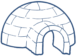 Igloo by Igloo Clip Art Black And White Clipart Panda Free Clipart Images