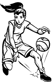 basketball coloring pages for girls coloringstar