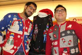 deck the halls with ugly christmas sweaters metro calgary