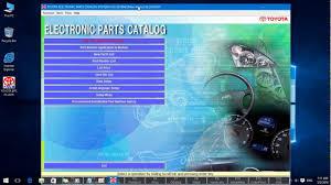 lexus spare parts catalog toyota epc parts catalog youtube
