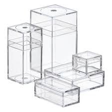 Stores Like The Container Store by Small Plastic Boxes Small Clear Amac Boxes The Container Store