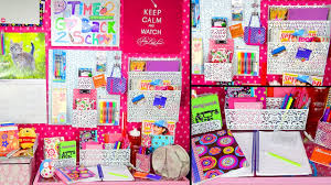 School Desk Organization Ideas Back To School Desk Tour Organization