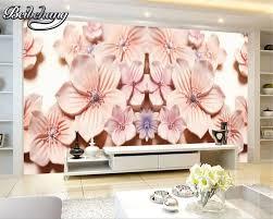 Wallpaper In Home Decor Comparer Les Prix Sur 3d Flower Wallpaper For Home Decor Online